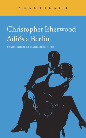 Adiós a Berlín - cover