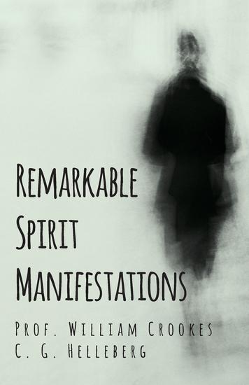 Remarkable Spirit Manifestations - cover