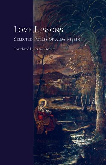 Love Lessons - Selected Poems of Alda Merini - cover