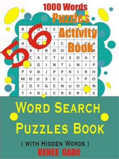Word Search Puzzles Book - 56 Puzzles Activity Book - cover