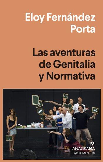 Las aventuras de Genitalia y Normativa - cover