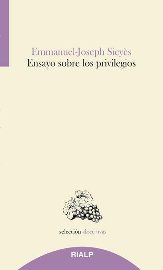 Ensayo sobre los privilegios - cover