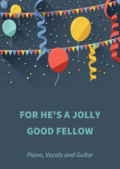 For he's a jolly good fellow - cover