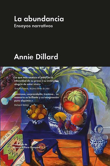 La abundancia - Ensayos narrativos - cover