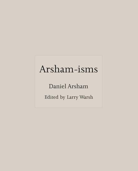 Arsham-isms - cover