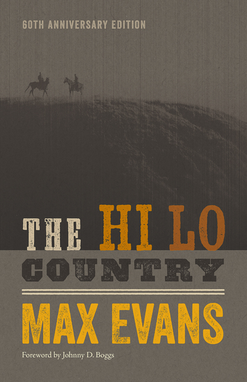 The Hi Lo Country - 60th Anniversary Edition - cover