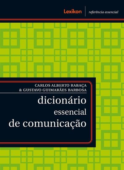 Dicionário essencial de comunicação - cover