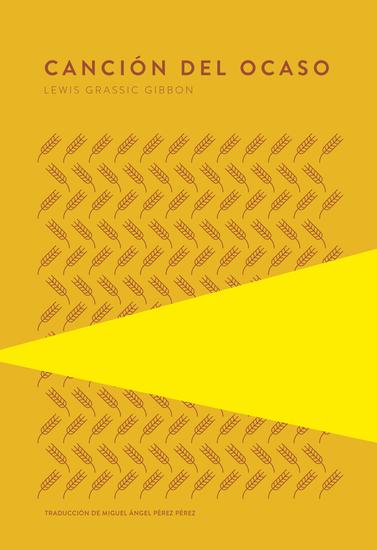 Canción del ocaso - cover