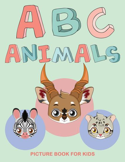 ABC ANIMALS - Picture Book For Kids - cover