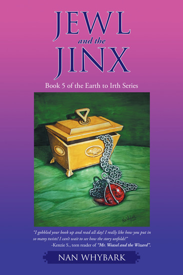 Jewl and the Jinx - Book 5 of the Earth to Irth Series - cover