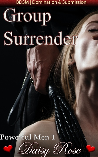 "Group Surrender - Book 1 of ""Powerful Men"" - cover"