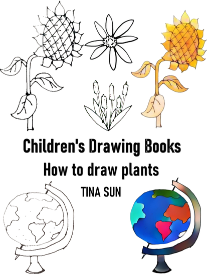 Children's Drawing Books:How to Draw Plants - cover