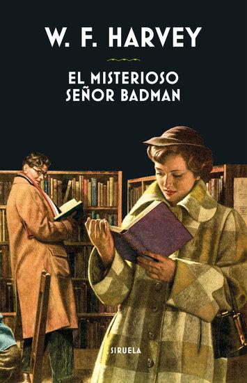 El misterioso señor Badman - cover