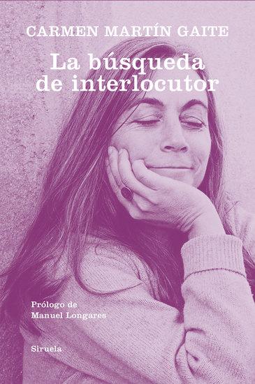 La búsqueda de interlocutor - cover