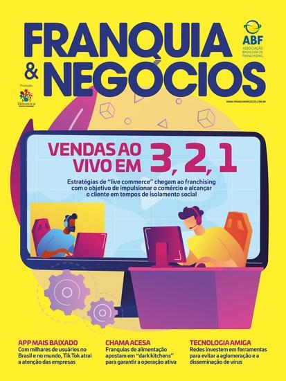 Revista Franquia & Negócios Ed 95 - Vendas Ao Vivo (live commerce) No Franchising - cover