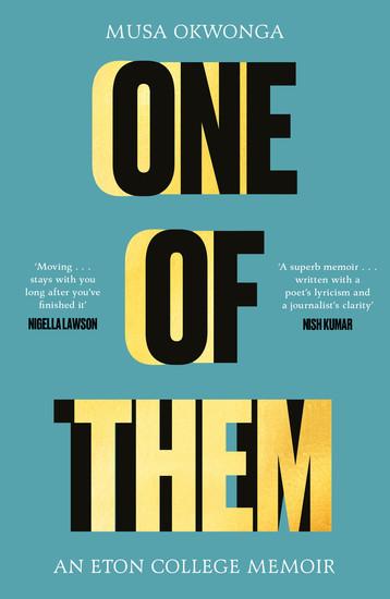One of Them - An Eton College Memoir - cover