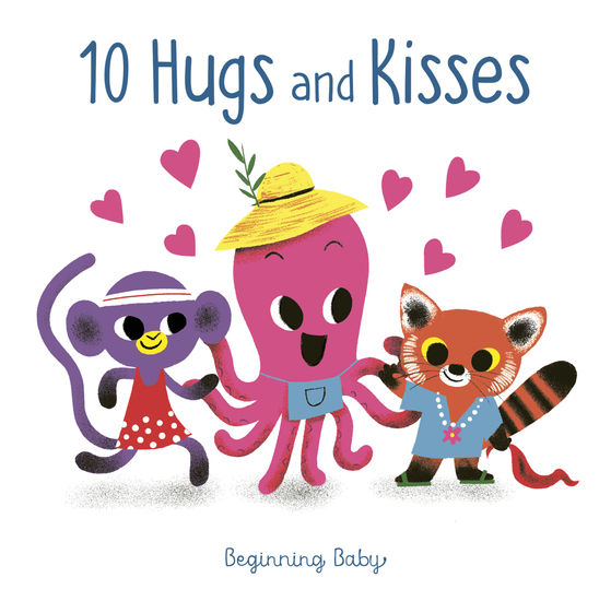 10 Hugs and Kisses - Beginning Baby - cover
