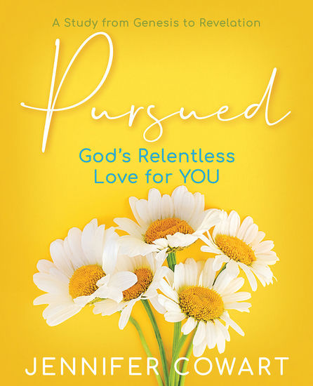 Pursued - Women's Bible Study Participant Workbook - Gods Relentless Love for YOU - cover