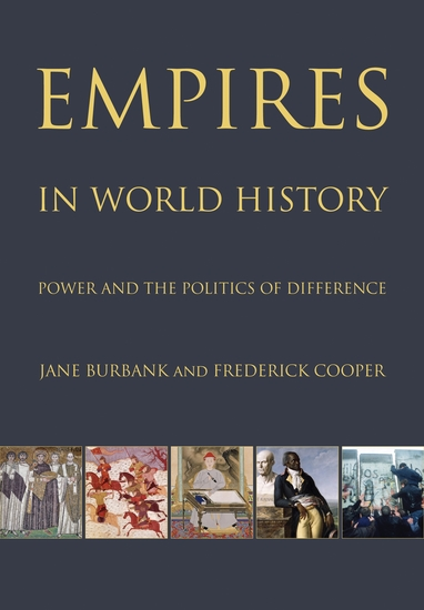 Empires in World History - Power and the Politics of Difference - cover