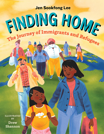 Finding Home - The Journey of Immigrants and Refugees - cover
