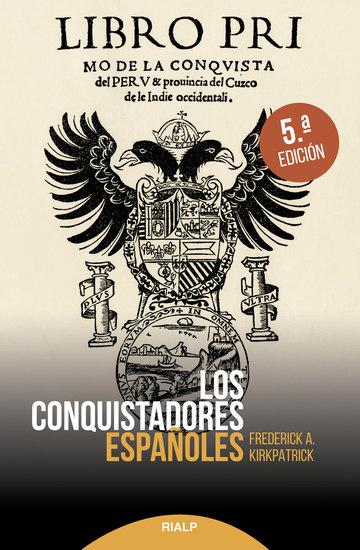 Los conquistadores españoles - cover