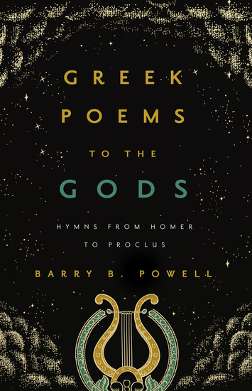 Greek Poems to the Gods - Hymns from Homer to Proclus - cover