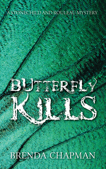 Butterfly Kills - A Stonechild and Rouleau Mystery - cover