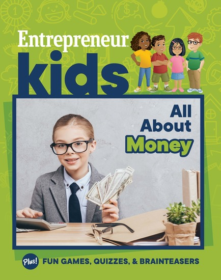 Entrepreneur Kids: All About Money - All About Money - cover