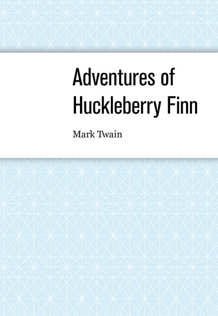 Adventures of Huckleberry Finn - cover