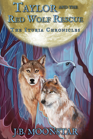 Taylor and the Red Wolf Rescue - cover