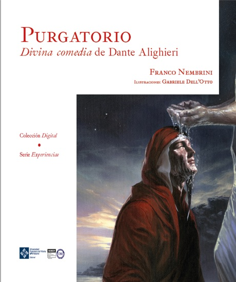 Purgatorio Divina comedia de Dante Alighieri - cover