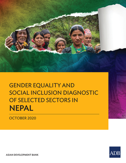 Gender Equality and Social Inclusion Diagnostic of Selected Sectors in Nepal - cover