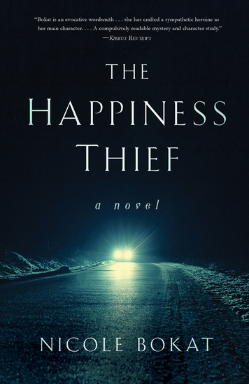 TheHappinessThief - A Novel - cover