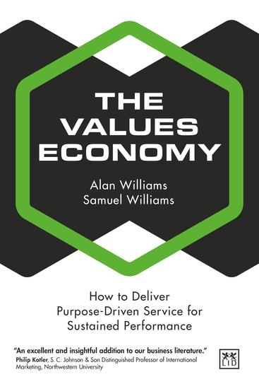The Values Economy - How to deliver purpose-driven service for sustained performance - cover