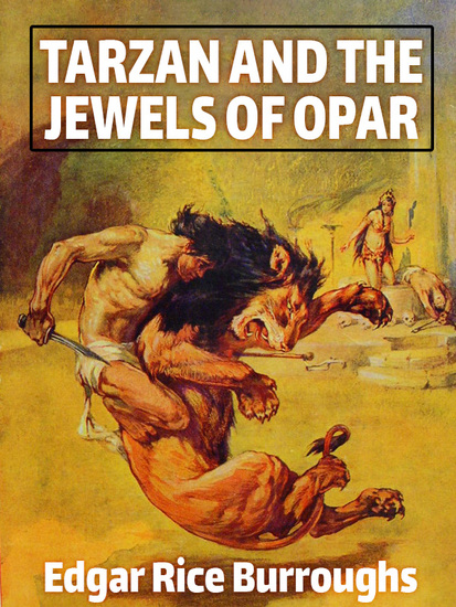 Tarzan and the Jewels of Opar - cover