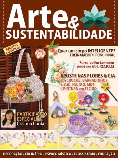 Arte e sustentabilidade Ed 04 - Crochê - cover