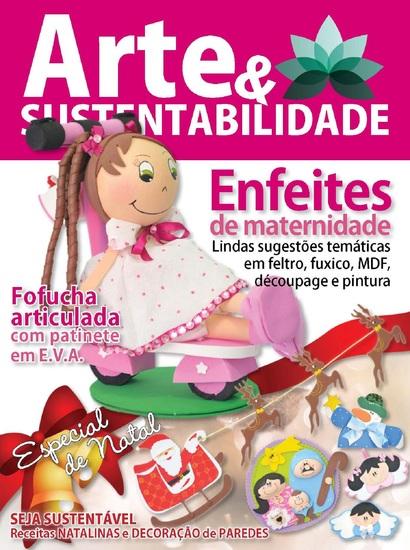 Arte e sustentabilidade Ed 05 - Enfeites de maternidade - cover
