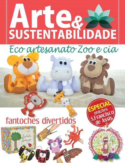 Arte e Sustentabilidade Ed 06 - Fantoches - cover