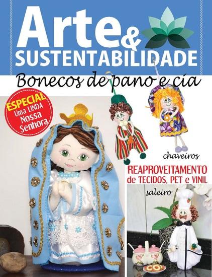 Arte e Sustentabilidade Ed 07 - Bonecos de pano e cia - cover