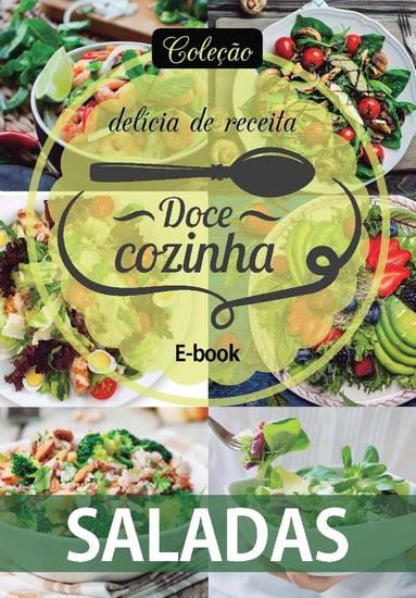 Coleção Doce Cozinha Ed 07 - Saladas - cover