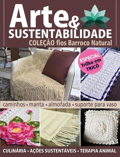 Arte e Sustentabilidade Ed 13 - Coleção Fios Barroco Natural - Especial Trilho em Tricô - cover