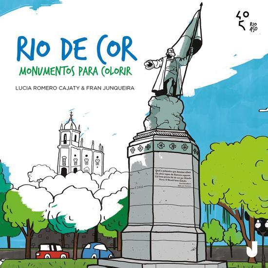 Rio de Cor - Monumentos para colorir - cover