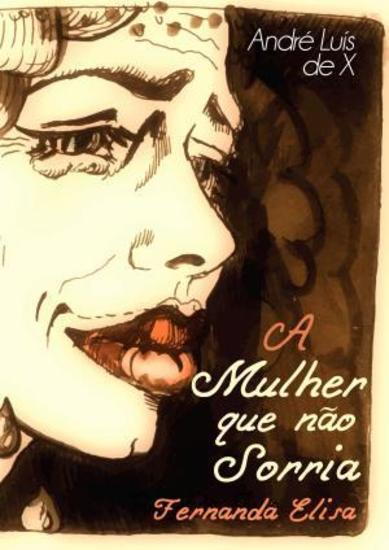 A Mulherque Não Sorria - Fernanda Elisa - cover