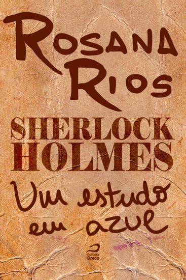 Um estudo em azul - Sherlock Holmes - cover