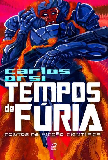 Tempos de fúria - Contos de ficção científica - cover