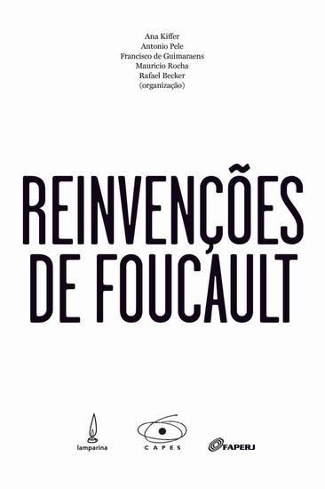 Reinvenções de Foucault - cover