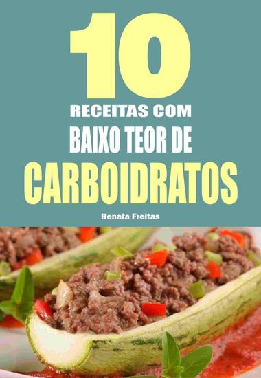 10 Receitas com baixo teor de carboidratos - cover