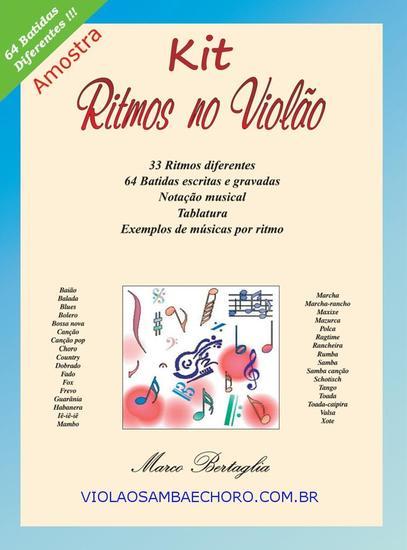 Kit Ritmos no Violão - Aprenda 33 Ritmos e 64 Batidas no Violão - cover