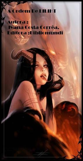 A Ordem de Lilith - Amor - cover