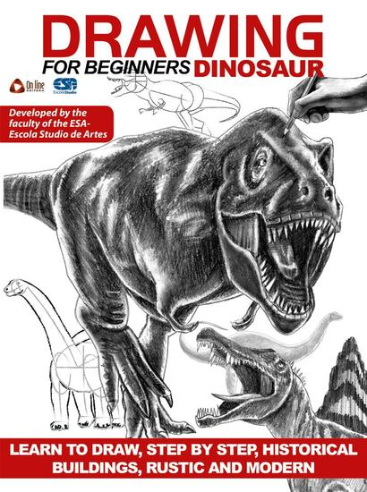 Drawing For Beginners (Dinosaur) - Drawing For Beginners - cover